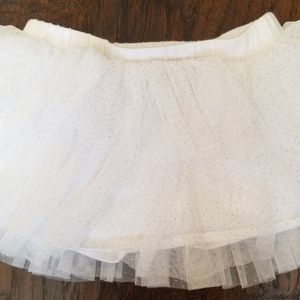 Layered tulle skirt 18-24 mos